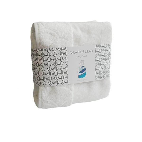 baby towel - alb - 1