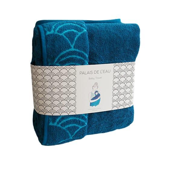 baby towel - albastru - 1