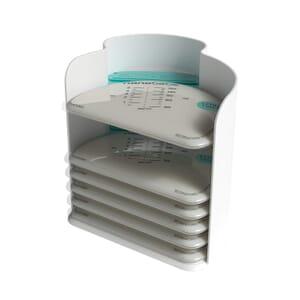 25 Pungi depozitare lapte matern + organizer nanobebe