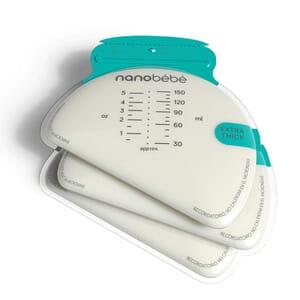50 Pungi depozitare lapte matern nanobebe