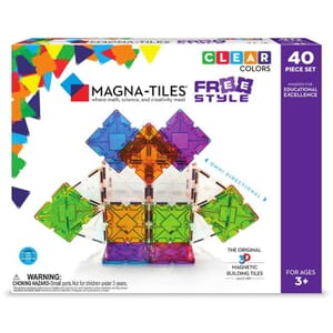 Magna-Tiles Freestyle cu magneti mobili (40 piese)